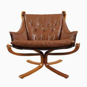Falcon Armchair by Sigurd Ressell for Vatne Furniture, 1980s