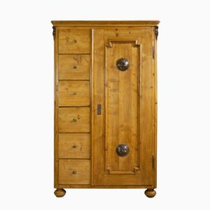 Antique Bread or Kitchen Cabinet, 1870s