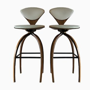 Bar Stools by Norman Cherner for Plycraft, 1964, Set of 2