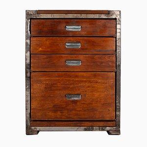 Vintage Industrial Work Cabinet, 1940s