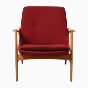 Norwegian Lounge Chair by Rolf Rastad & Adolf Relling for Dokka Møbler, 1950s