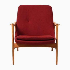 Norwegischer Sessel von Rolf Rastad & Adolf Relling für Dokka Møbler, 1950er