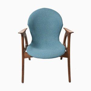 Mid-Century Teak Easy Chair by Aage Christiansen for Erhardsen & Andersen