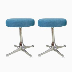 Stools by George Nelson for Herman Miller, 1950s, Set of 2