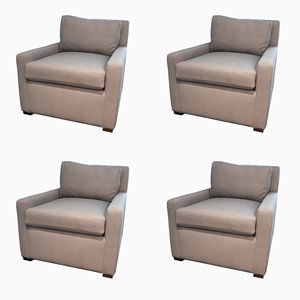 Vintage Armchairs, Set of 4