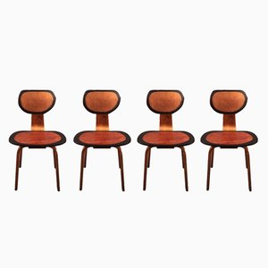 Black is Beautiful Series Dining Chairs from Markus Friedrich Staab, 2018, Set of 4