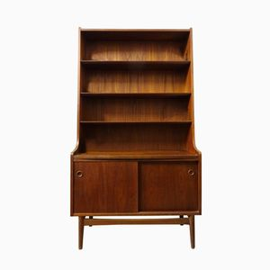 Teak Bookcase by Johannes Sorth, 1960s