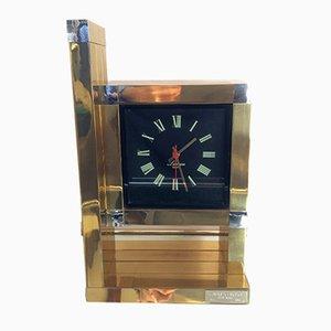 Horloge Vintage par Willy Rizzo pour Lumica