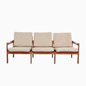 Vintage Teak Sofa von Illum Wikkelsø für Eilersen
