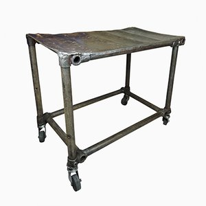 Industrieller geschweißter Vintage Tisch