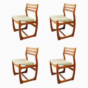 Esszimmerstühle von Portwood, 1960er, 4er Set