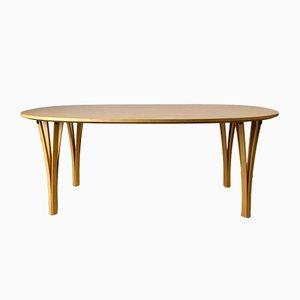 Table Basse Super Ellipse par Piet Hein & Bruno Mathsson pour Fritz Hansen, Danemark, 1992