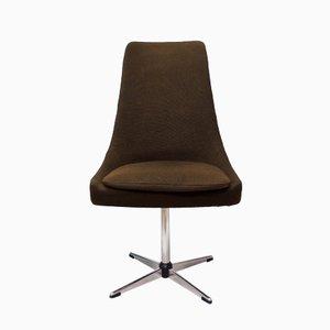Brown Vintage Swivel Chair, 1970s