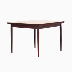 Vintage Rosewood Veneered Dining Table by Arne Vodder for Sibast