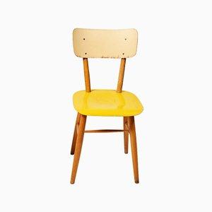 Chaise de Salon Jaune de TON, 1960s
