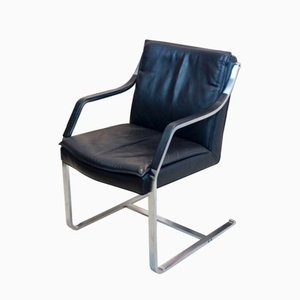 Vintage Art Collection Leather Chair by Rudolf B. Glatzel for Walter Knoll