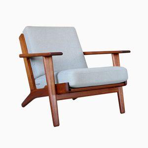 Vintage Danish GE-290 Easy Chair by Hans J. Wegner for Getama, 1960s