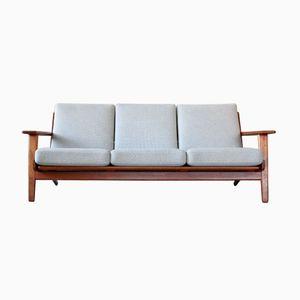 Vintage Danish GE-290 3-Seater Sofa by Hans J. Wegner for Getama, 1960s