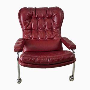 Vintage Swedish Lounge Chair, 1970s