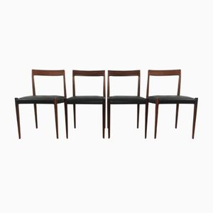 Chairs from Lübke, 1960s, Set of 4