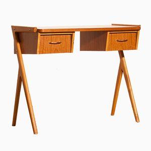 Teak Schreibtisch oder Beistelltisch, 1950er