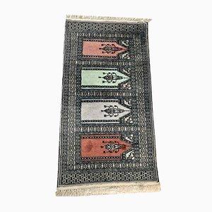 Iranian Wool & Silk Rug, 1960s