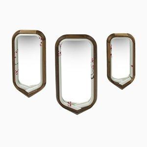 Kimono Mirrors by Helena Costa & Carlos Costa for Alma de Luce, Set of 3