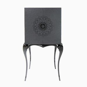 Mobiletto Naperon nero di Helena Costa & Carlos Costa per Alma de Luce