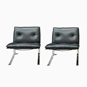 Vintage Joker Armchairs by Olivier Mourgue for Airborne, Set of 2