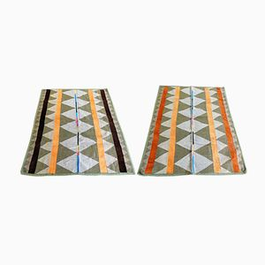 Wool Rugs, 1979, Set of 2