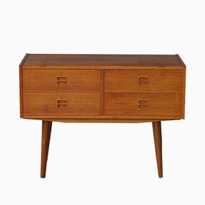 Mid-Century Danish Double Fronted Chest of Drawers