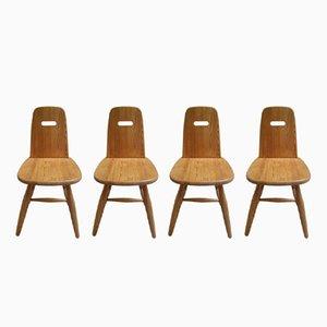 Skandinavische Stühle von Eero Aarnio für Laukaan Puu, 1960er, 4er Set