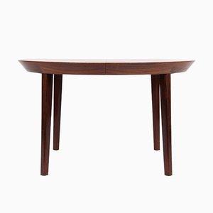 Table de Salle à Manger Vintage en Palissandre par Ole Hald pour Gudme Moebelfabrik