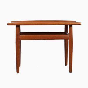 Table Basse Mid-Century en Teck par Grete Jalk pour Glostrup, 1960s