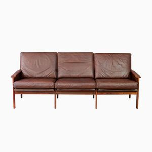 Rosewood Capella Sofa by Illum Wikkelsø, 1960s