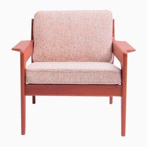 Dänischer Armlehnstuhl von Arne Wahl Iversen für Komfort, 1960er