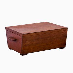 Vintage Danish Teak Box, 1950s