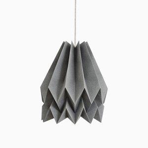 Lampe Origami Gris Alpin par Orikomi