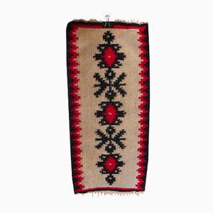Vintage Handmade Kilim Rug, 1960s