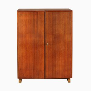 Vintage Swiss Mahogany Veneer Magic Box Desk by Ernst Mumenthaler & Otto Meier, 1930s