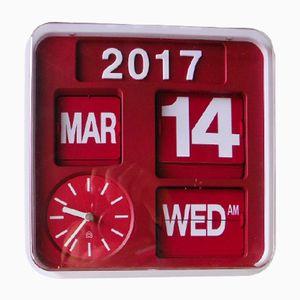 Vintage Autoflip Calendar Clock