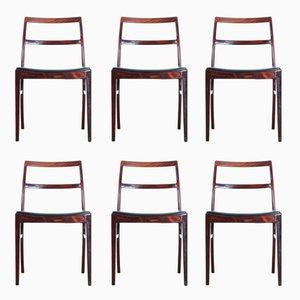 Vintage Modell 430 Rio Palisander Stühle von Arne Vodder für Sibast, 1960er, 6er Set