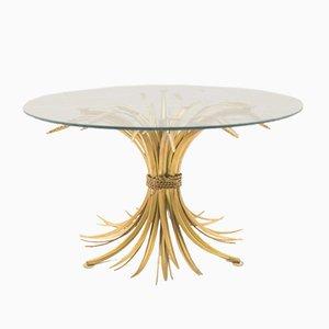 Table Basse Vintage Epi de Blé, France, 1960s