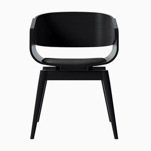Black 4th Armchair with Soft Black Seat by Almost