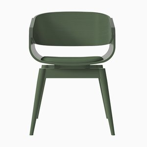 Green 4th Armchair with Soft Green Seat by Almost