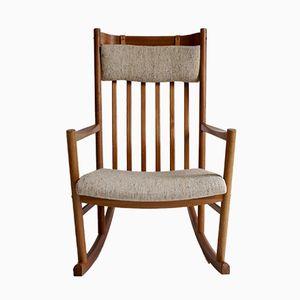 Rocking-Chair Vintage par Hans Wegner pour Tarm Stole, 1960s