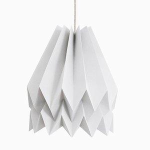 Lampe Origami PLUS Gris Clair Uni par Orikomi
