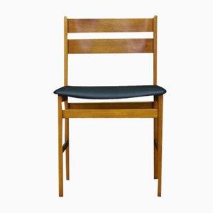 Scandinavian Teak Side Chair, 1970s