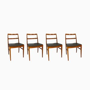 Model 430 Teak Dining Chairs by Arne Vodder for Sibast, 1960s, Set of 4
