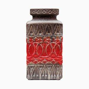 West German Ceramic Floor Vase from Bay Keramik, 1960s
